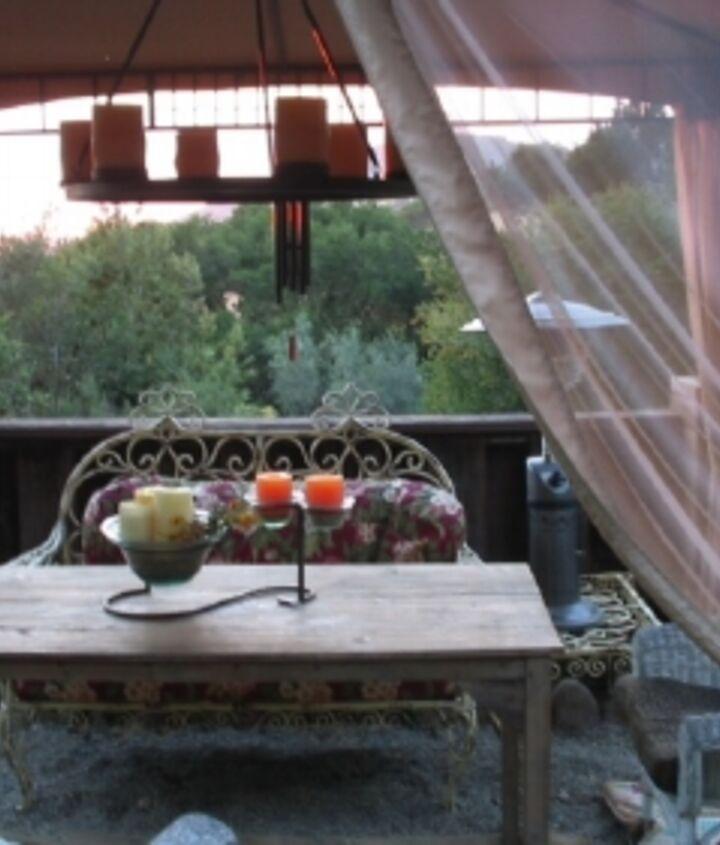 outdoor spaces, decks, outdoor living