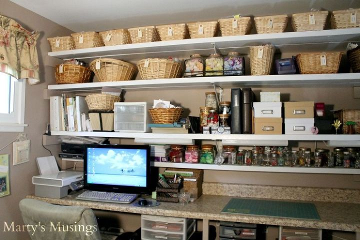You Can Have A Terrific Diy Scrapbookcraft Room In A Small House