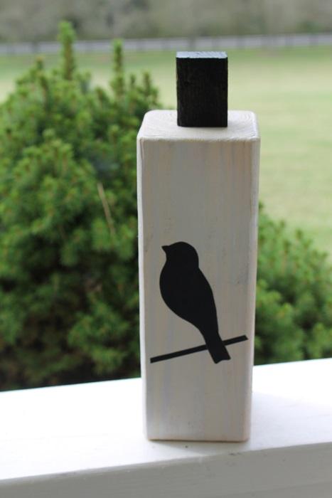 A vinyl bird added...