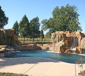 Swimming Pool Waterfalls Swimming Pool Water Features Swimming Pools,  Outdoor Living, Ponds Water Features Clifrock
