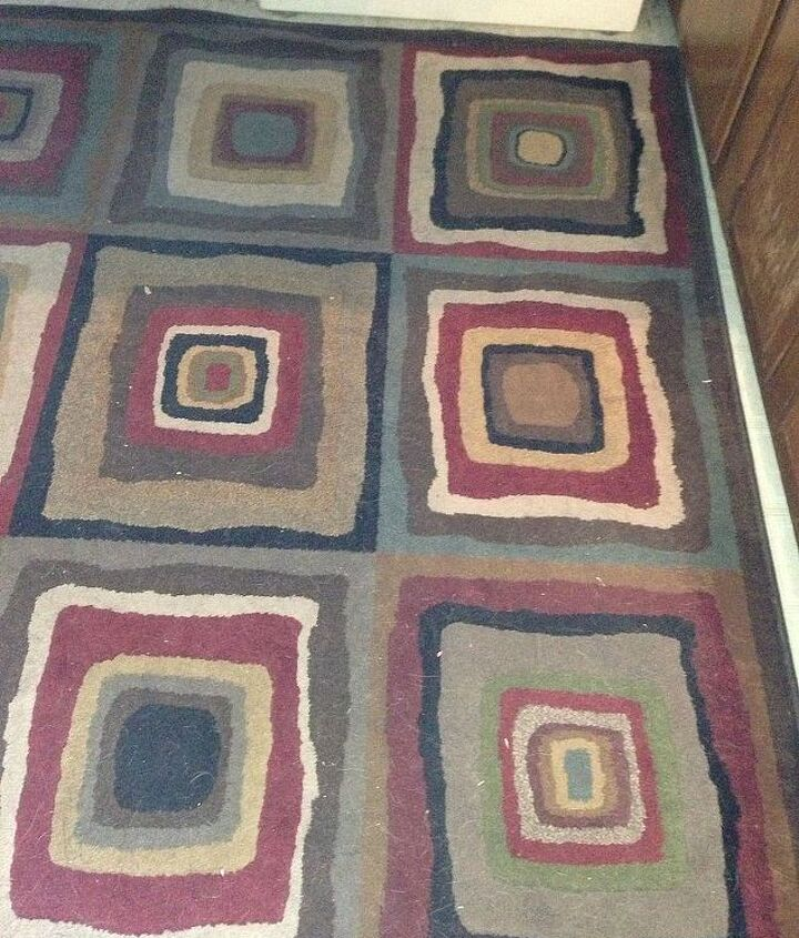 Different shot of rug.