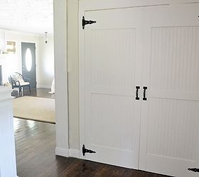 Diy Cottage Closet Door Makeover, Closet, Diy, Doors, How To, Tools. I Love  The Barn Style ...