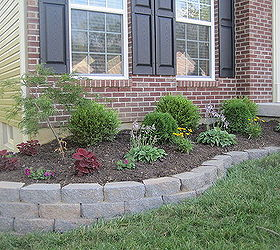 Diy Landscaping Retaining Wall, Gardening, Landscape, Outdoor Living, Retaining  Wall Built With
