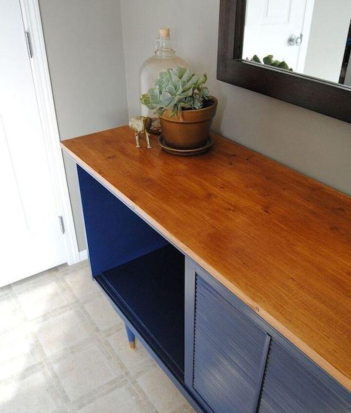 Mid Century Modern Sideboard 'before'