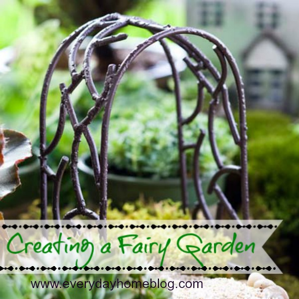 creating a fairy garden, crafts, gardening