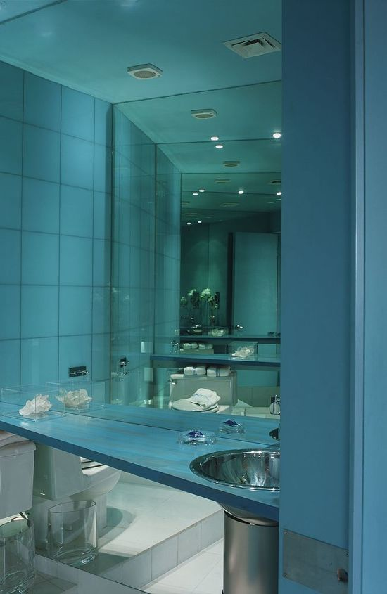 The powder room, with angle infinity views.