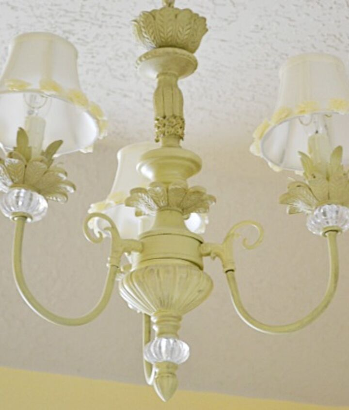 This chandelier looks vintage but is new.