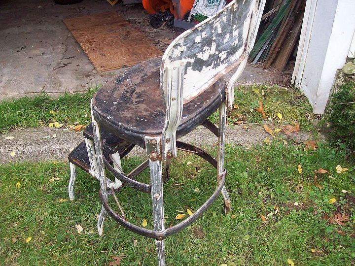 Refinishing An Old Step Stool High Chair Hometalk