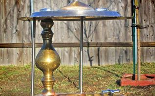 repurposed upcycled silverplate amp brass custom bird feeder or valet, repurposing upcycling, Repurposed Custom Formal Silverplate Brass Bird Feeder or Valet by GadgetSponge com
