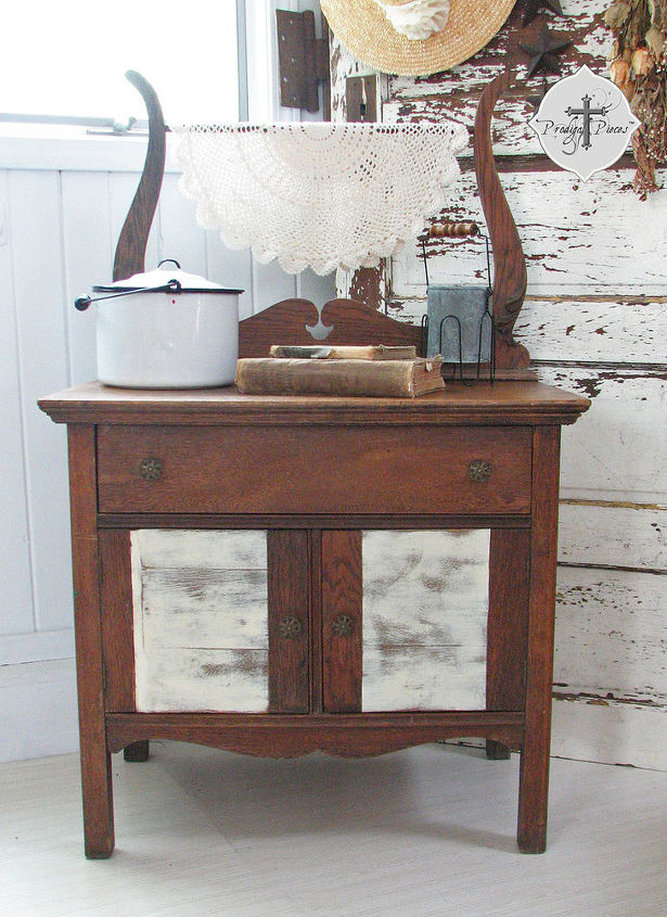 an antique makeover, painted furniture, rustic furniture