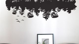 q what would you do with a large blank wall, home decor, living room ideas, paint colors, wall decor