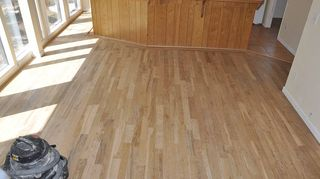 q we have hardwood floors before we moved in 10 yrs ago we had them refinished, flooring, hardwood floors, crappy water based finish