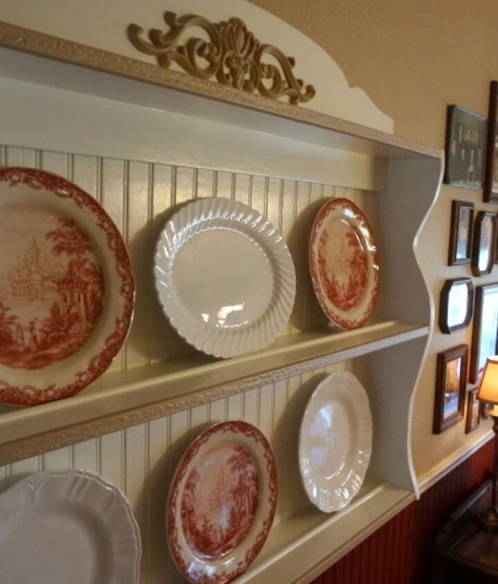plate racks in the dining room, home decor, storage ideas