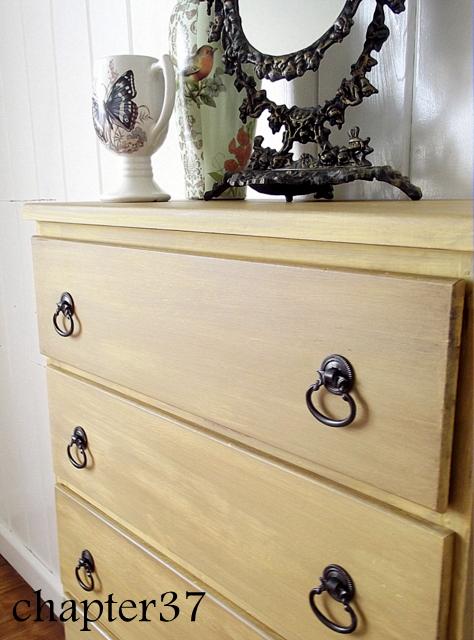 Chalk Paint Yellow Dresser   Hometalk