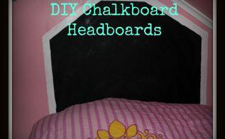 diy chalkboard headboards, bedroom ideas, diy, how to