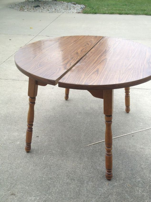 $5, tired table