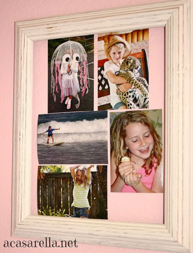 The walls are decorated with her favorite images and memorabilia...