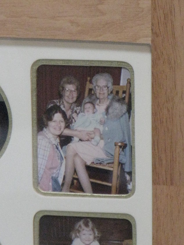 My mom, me, my Grandmother and her holding our baby daughter! 1982.