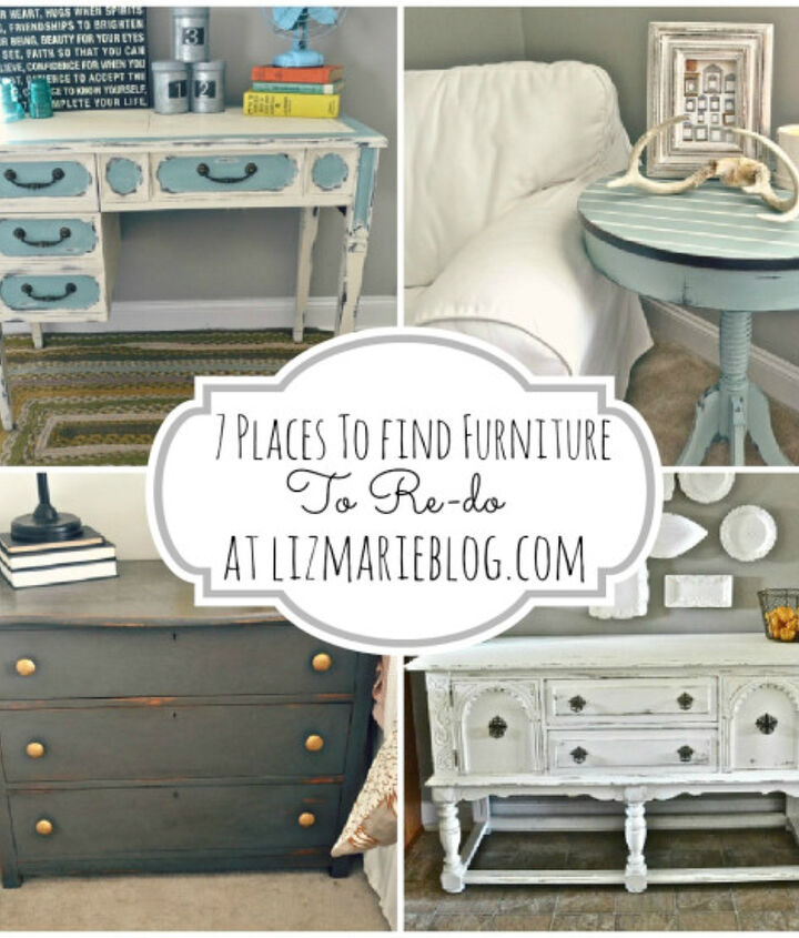 where to find furniture to paint, painted furniture