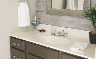 half bathroom reveal, bathroom ideas, home decor, Here s the after a completely new look