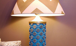 lamps made from wallpaper rollers, repurposing upcycling
