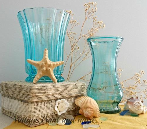 Faux Beach Glass Vases Hometalk