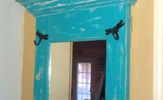 old door found in a dilapidated farm house repurposed for use in entry or hallway, doors, painting, repurposing upcycling
