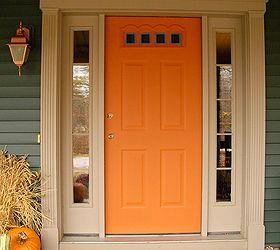 Front Door Redo Using Faux Wood Grain Technique, Doors, Painting, First I  Taped