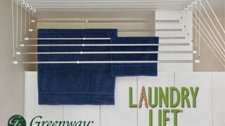 looking on how to do a ceiling mounted cloth line, cleaning tips