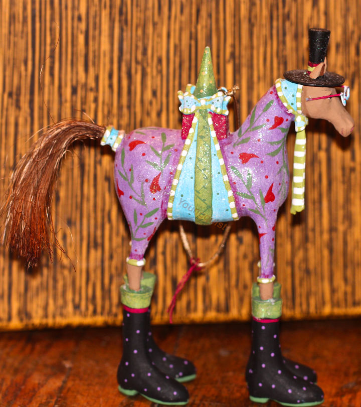 """Year of the Horse """"rep"""" ready for a close-up! View One."""