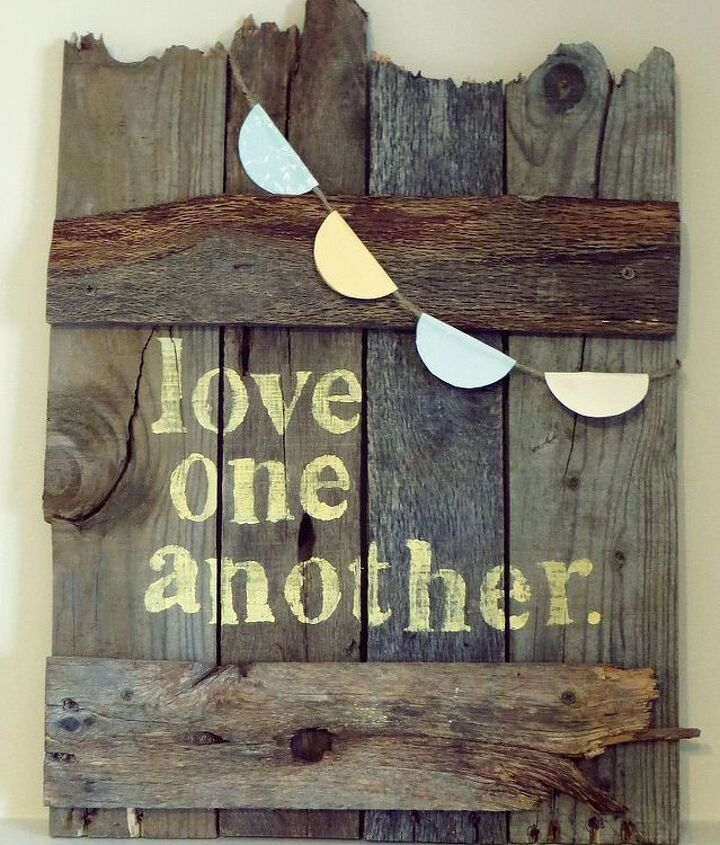 pallet wood signs, crafts