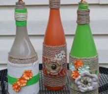 wine bottle wicks, crafts, repurposing upcycling