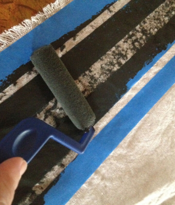Easy, the paint doesn't have to be applied evenly.