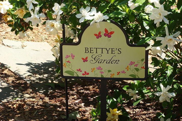 Grandma's memory garden