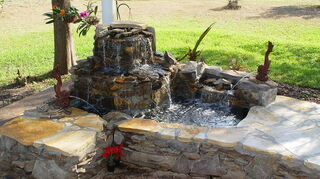 replacing pondless waterfall, outdoor living, ponds water features, water seen from all angles