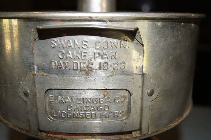 swan down cake pan re purpose project, repurposing upcycling