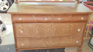 q when did veneer come into play with furniture i have an old dresser that is, painted furniture, just the bottom
