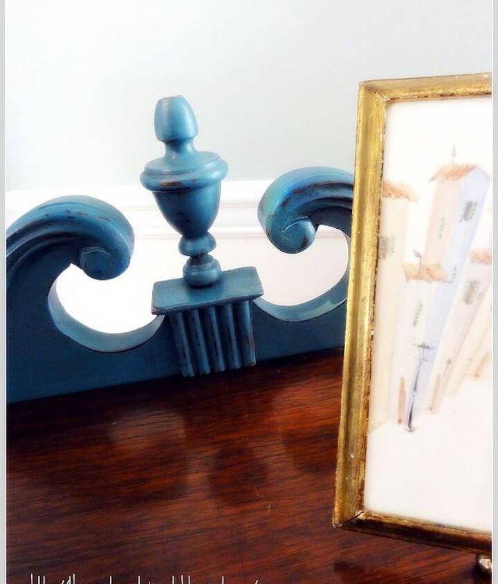 Aubusson Blue and dark wax