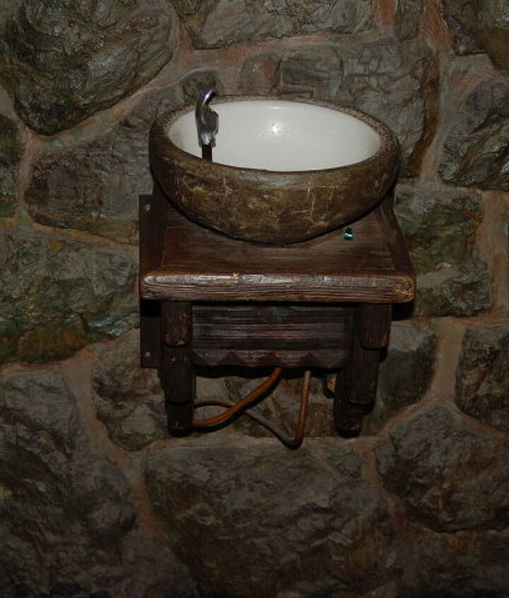 i love this drinking fountain and want it it is in the ahwahnee hotel in yosemite, ponds water features