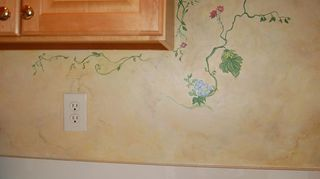 q are there any special concerns or drawbacks to putting wallpaper in a kitchen, home decor, kitchen design, wall decor