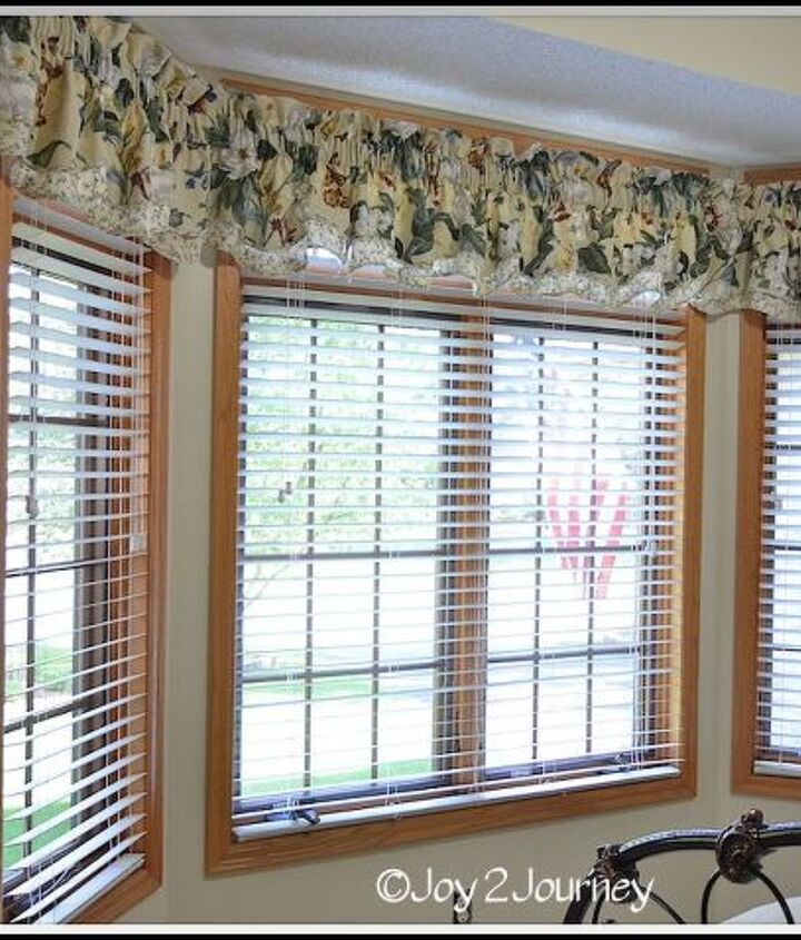 Blinds are installed and Valance put back up :)