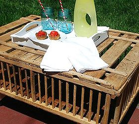 Chicken Crate Coffee Table Hometalk