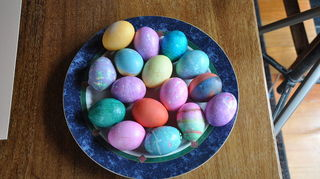 easter decoration for indoor and outdoor, easter decorations, gardening, seasonal holiday d cor, the eggs