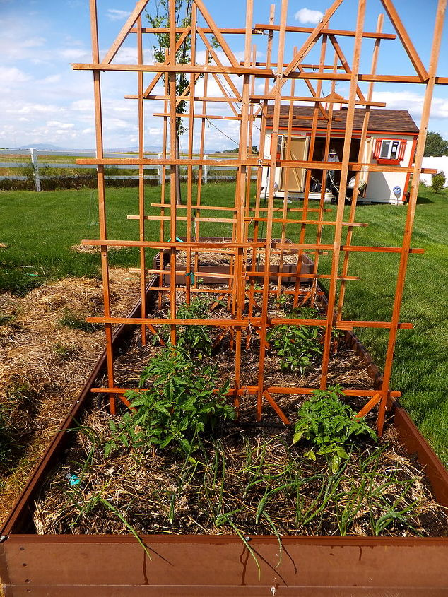 my little farm, gardening, raised garden beds