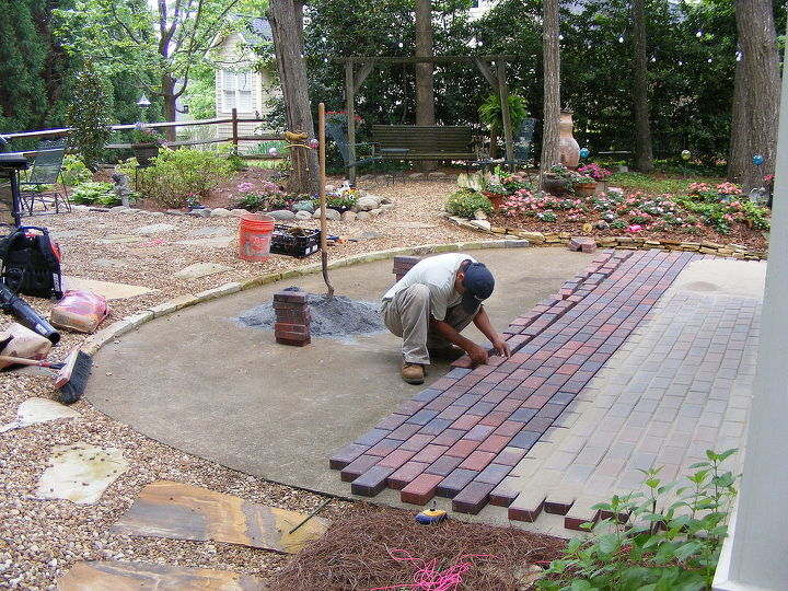 Installing Pavers Over Your Existing, Put Pavers Over Concrete Patio