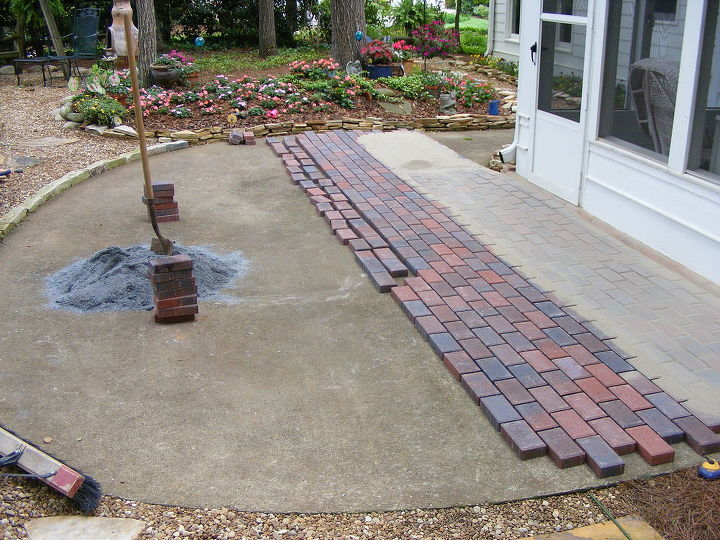 Installing Pavers Over Your Existing Patio Is A Great Way To