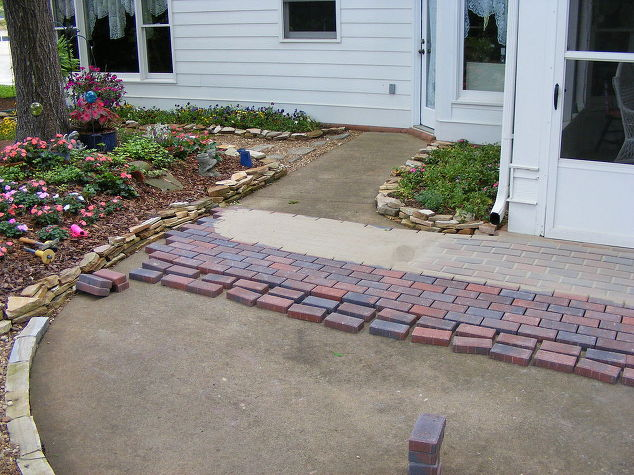 Installing pavers over your existing patio is a great way to change ...