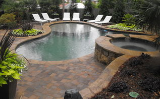 backyard pool oasis, outdoor living, patio, pool designs, Great place to hang out