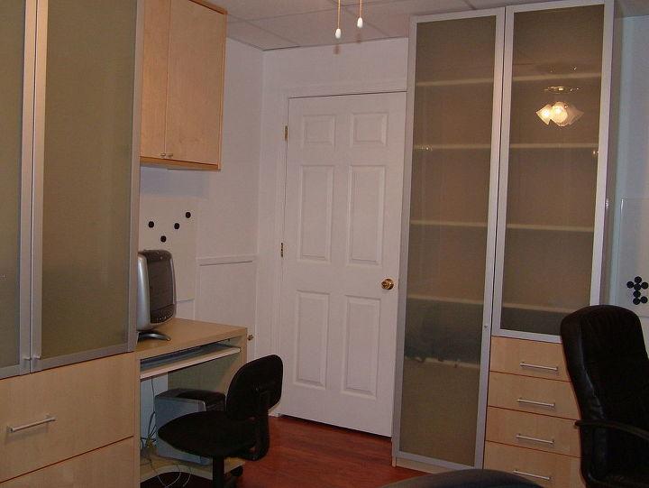 Desk 3 (left) and desk 1 (right)
