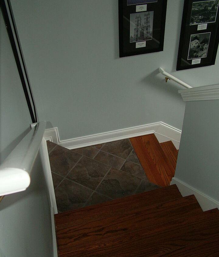 after- tile and oak